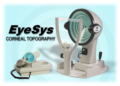 Corneal-Topography EyeSys