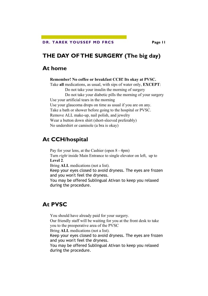 Cataract Procedure for Web 11