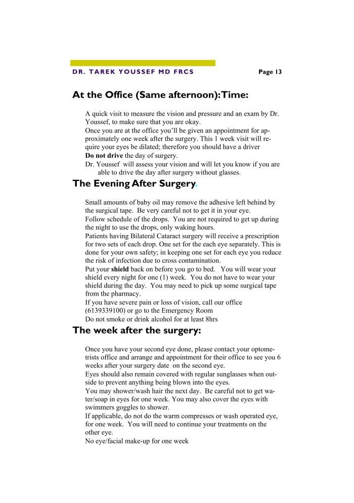 Cataract Procedure for Web 13