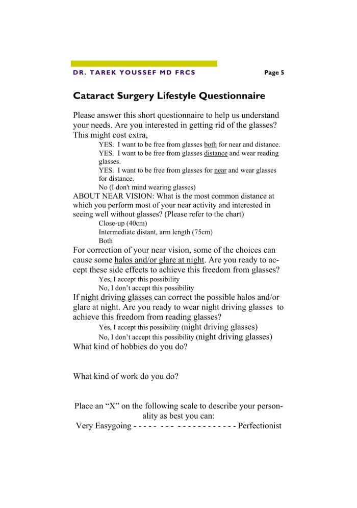 Cataract Procedure for Web 5