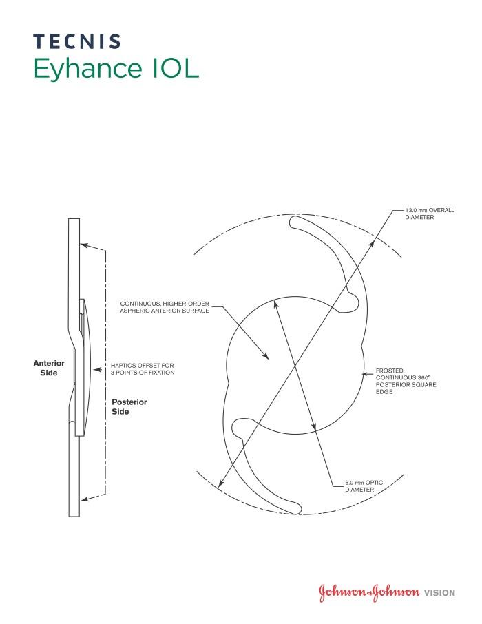 Tecnis Eyhance IOL